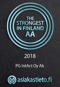 PG IntAct Oy Ab - AA